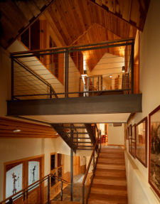 Snowmass House Stairway