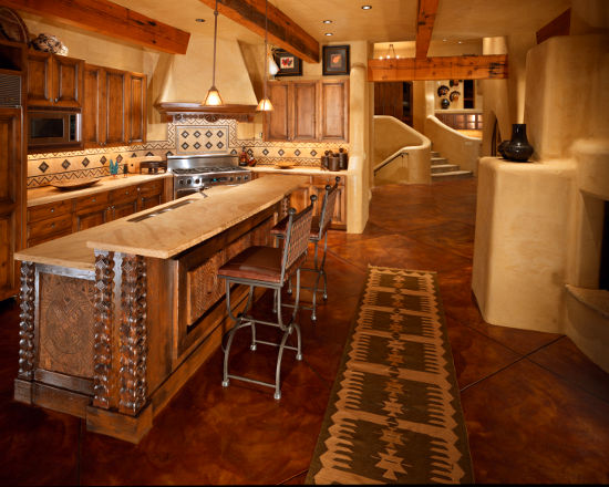 kitchen design santa fe roaring fork builders projects santa fe style 396